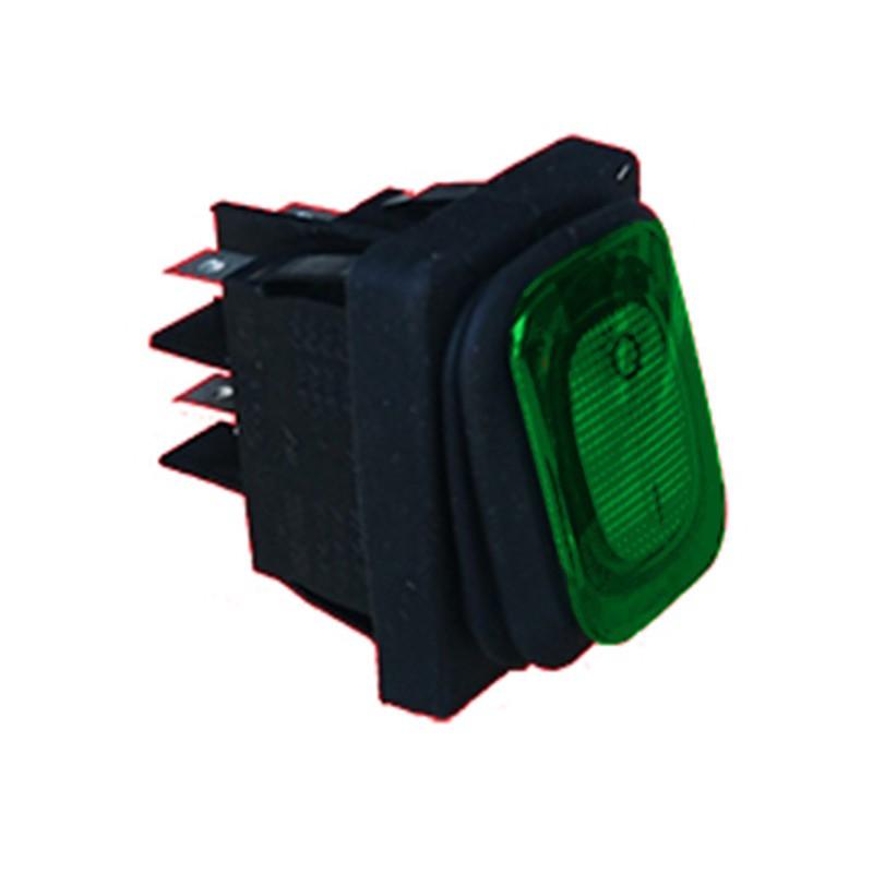 Interrupteur bipolaire 250v 16a 30X22 mm