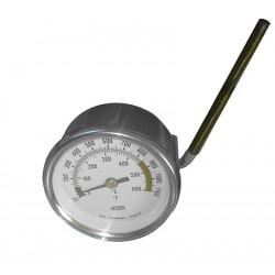 THERMOMETRE BLANC Ø 60 MM 0-600°C