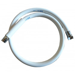 "FLEXIBLE BLANC Ø 1/2""FF 1200 MM"