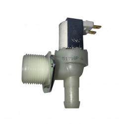 ELECTROVANNE 1 VOIE COUDEE T&P 90° ø 15 mm