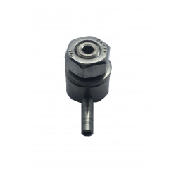 Raccord cuve acier inox M10x1,5 tuyau ø 4mm